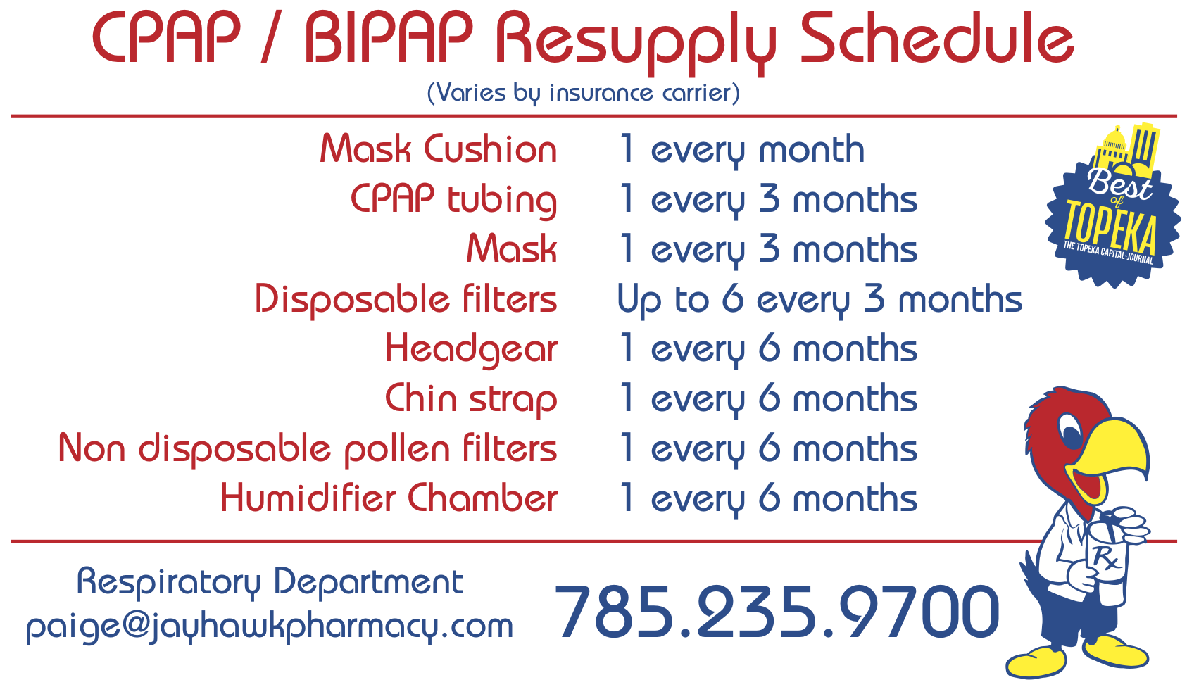 CPAP Refill - Jayhawk Pharmacy & Patient Supply